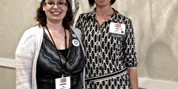 Christina and Paula at SSS Conference