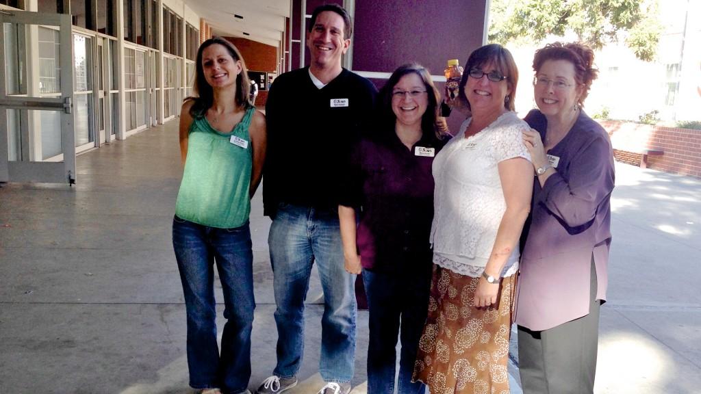 3CSN Coordinators (Crystal, Mark, Maria, Jeanne, and Jan)
