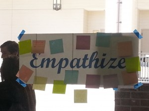 A variety of disciplines identified empathizing as an important Habit of Mind