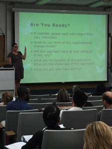 "Veronica Neal asks participants ""Are You Ready?"""