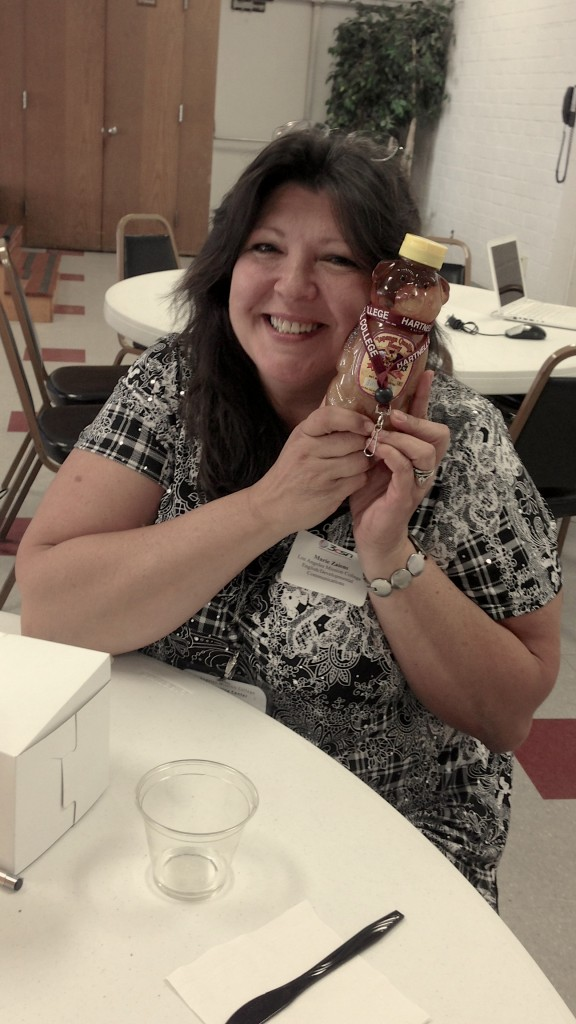 Maria is taking the Honey Bear with her to LAMC